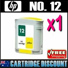 1x Yellow Ink for HP 12 C4806A Business Inkjet 3000 3000n 3000dtn