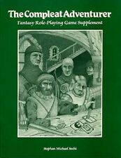 THE COMPLEAT ADVENTURER VF! Complete AD&D D&D BARD GAMES Wizard Dungeons Dragons
