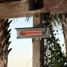 Black Steel Wall Mounted Infrared Patio Heater 60460