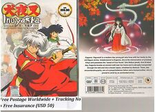 INUYASHA: The Complete Collection Season 1-2-3-4-5-6-7 volume 1-167e DVD BOX SET