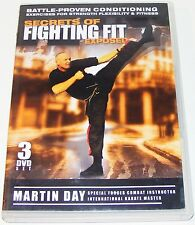 SECRETS OF FIGHTING FIT EXPOSED-- Martin Day --(Dvd 3 Disc Set)
