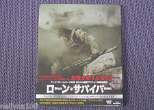 "MARK WAHLBERG ""LONE SURVIVOR""  JAPAN BLU-RAY STEELBOOK *SEALED*"