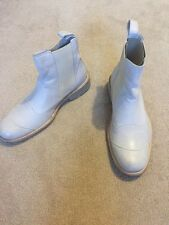 BELSTAFF botas zapatos de arranque Belstaff HALF Belstaff TOURMASTER Blanco Nuevo UK7 Eur41