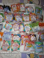 Large 30pc Lot Vintage McDonalds Happy Meal Toys UNOPENED Disney TY + More NOS!