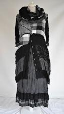 STUNNING ZEDD.PLUS DRESS/JACKET & SKIRT  BLACK/WHITE  XL/XXL  3 PIECE SET