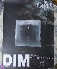 """the GazettE DIM 2015 Taiwan Promo Poster (23""""X16"""")"""