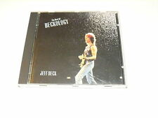 "JEFF BECK ""THE BEST OF BECKOLOGY"" CD EPIC 1992"