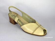 Jenny by Ara Damenschuhe Sandalen Leder beige Gr. 41 (PE 1121)