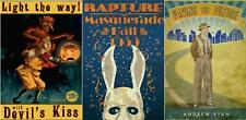 BIOSHOCK SET OF 3 POSTERS A3 SIZE RAPTURE MASQUERADE BALL
