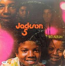 Michael Jackson The Jackson 5 Signed Album Cover W/ Vinyl PSA/DNA #U03955