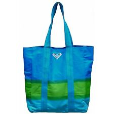 ROXY Rise & Shine Scuba Blue Canvas Tote - END OF SEASON SALE