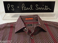 "PAUL SMITH Mens Shirt  �� Size S (CHEST 40"") ��  RRP £95+ �� SPECTACULAR SPOTS"