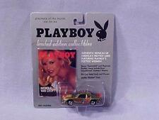 Playboy NICHOLE VAN CROFT Die Cast Car LIMITED EDITION NEW ON CARD 2000