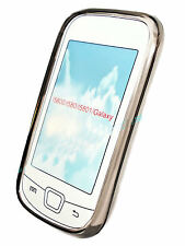 Silikon TPU Handy Cover Case Hülle Schale in Smoke für Samsung i5800