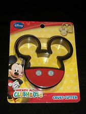 Mickey Mouse Clubhouse Bread Crust Cutter Cookie Sandwich Lunch Disney