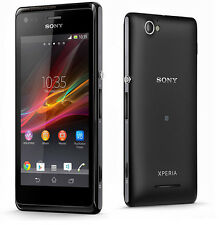 "New Unlocked Sony Xperia M C1905 4GB Smartphone 5MP 4.0"" NFC GPS Black"