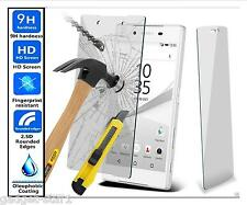 Genuine 100% TEMPERED GLASS Invisible HD Screen Protector Sony Xperia Z5 Premium
