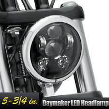 "5-3/4"" LED Projection Daymaker Headlight Fr Harley Dyna Glide Fat Bob Street Bob"