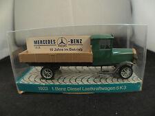 Cursor Modell 474 camion plateau Mercedes Benz Diesel Lastkraftwagen 5K3 neuf