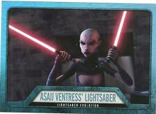 2016 Topps Star Wars Evolution of the Lightsaber EL-5 Asajj Ventress