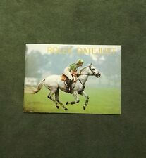 BOOKLET ROLEX DATE JUST ANNO 1989 ENG