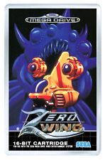 ZERO WING MEGA DRIVE FRIDGE MAGNET IMAN NEVERA