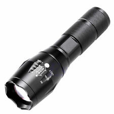 5000LM CREE XM-L XML T6 LED Zoomable Flashlight Torch Focus Night Lamp Light UK