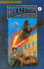 Rocket Man: King of the Rocket Men #1, Innovation 1991, $2.50 - Chris Moeller