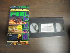 USED MAIN EVENT VIDEO DRAG RACING FILM NITETIME FUEL AND FIRE COLLECTORS EDITION