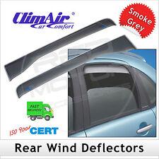CLIMAIR Car Wind Deflectors SEAT TOLEDO 5DR 2004...2007 2008 2009 2010 2011 REAR