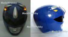 Lighted up!! Outside Cliplock! Mighty Morphin BLUE RANGER 1/1 Scale Helmet