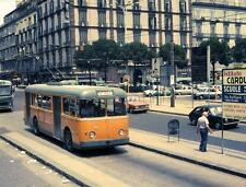 Photo. 1978-9. Naples, Italy. 1961 Alfa Romeo Trolleybus