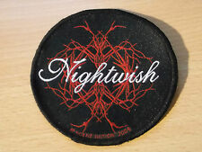 NIGHTWISH..  Music patch... Original  Vintage  2004