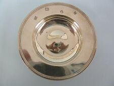 SOLID SILVER Armada or Alms DISH. John Henry Odell, London 1979. 66g