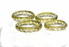 Clear silicone Faceted multi-Ring mold,size 6,7,8,9.Free USA shipping!(3-11)x