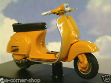 "EXCELLENT MAISTO DIECAST 1/18 1966 VESPA 50L MOTOR SCOOTER IN ORANGE 3 3/4"" 92MM"