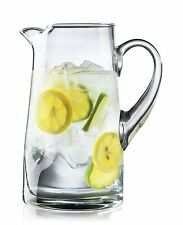 Crisa Impressions by Libbey 80 Ounce Clear Glass Pitcher (1792584) glass NEW
