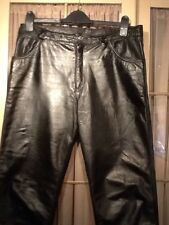 """MENS LEATHER TROUSERS/JEANS. 34"""""""