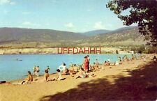THE BATHING BEACH, PENTICTON, B.C. CANADA Home of the Peach Festival