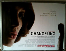Cinema Poster: CHANGELING 2008 (Quad) Angelina Jolie Clint Eastwood