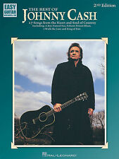 JOHNNY CASH - EASY COUNTRY GUITAR TAB BOOK - SONGBOOK