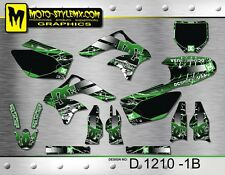 Kawasaki KX 250 f 2006 up to 2008 graphics decals kit Moto StyleMX