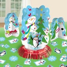 Joyful Snowman Table Decorating Kit - Christmas Party Decorations Special Offer