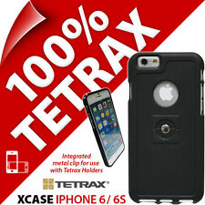 New Tetrax Xcase for Apple iPhone 6 / 6S Protective Integrated Clip Case Black
