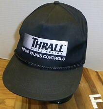 THRALL DISTRIBUTING PIPING VALVES CONTROLS SNAPBACK HAT VERY GOOD CONDITION