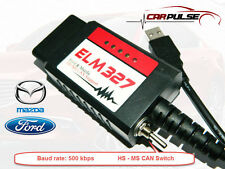 ELM327 USB Switch for Ford Mazda Elmconfig FORScan FTDI  PIC18F25K80 500 kbps