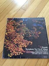Dvorak Symphony No.9 in E minor LP Record London Philharmonic Orch - Gibson VG+