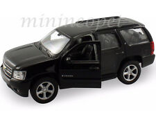 WELLY 22509W-BK 2008 08 CHEVROLET TAHOE SUV 1/24 DIECAST MODEL CAR BLACK