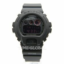 Casio G-Shock DW-6900MS-1D Tough And Durable Black Sport Resin Watch
