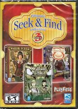 ULTIMATE SEEK & FIND COLLECTION Hidden Object 3 PACK PC Game DVD-ROM NEW